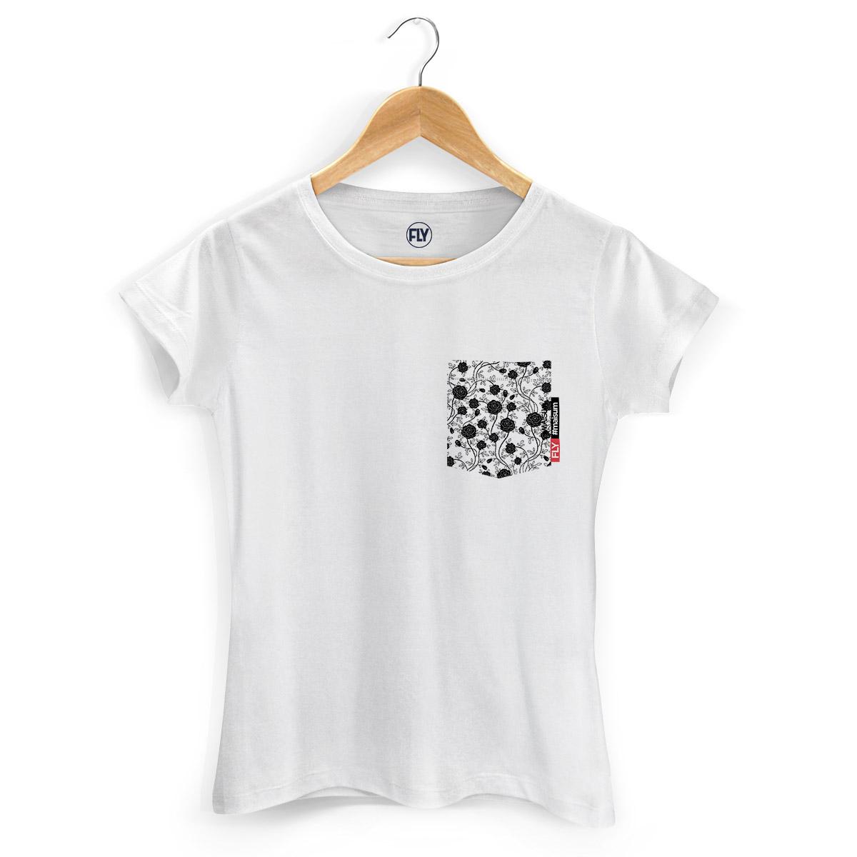 Camiseta Feminina Banda Fly Pocket