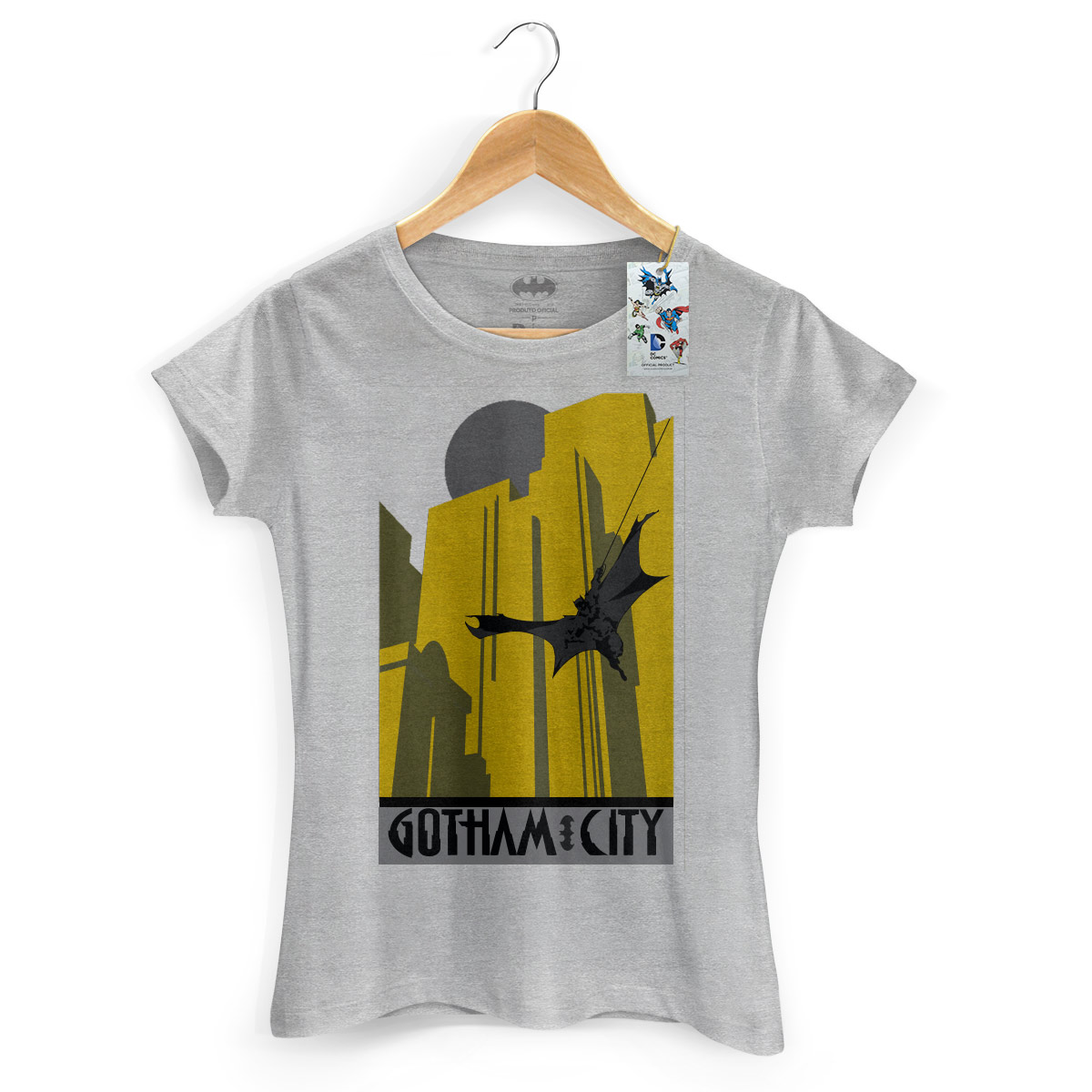Camiseta Feminina Batman In Gotham City 2
