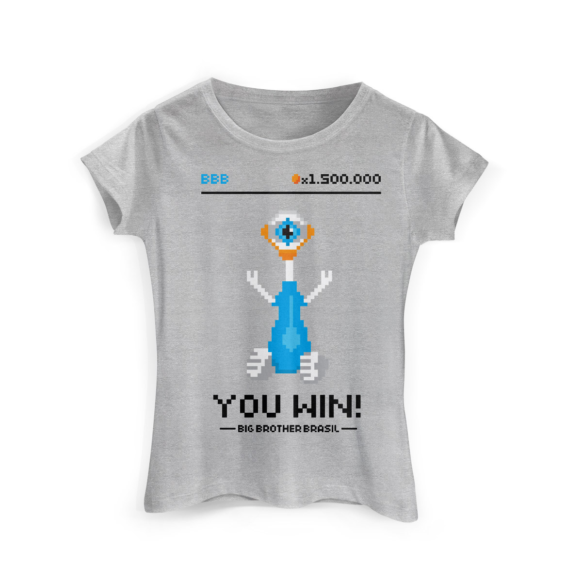 Camiseta Feminina Big Brother Brasil 15 You Win Modelo 2