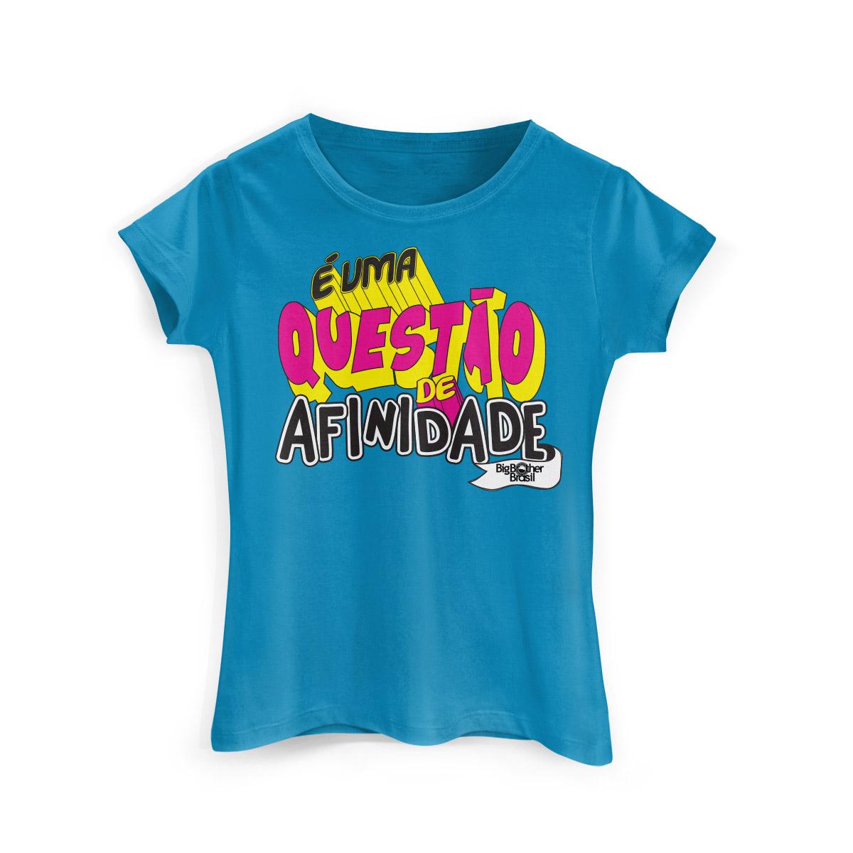 Camiseta Feminina Big Brother Brasil 15 Afinidade