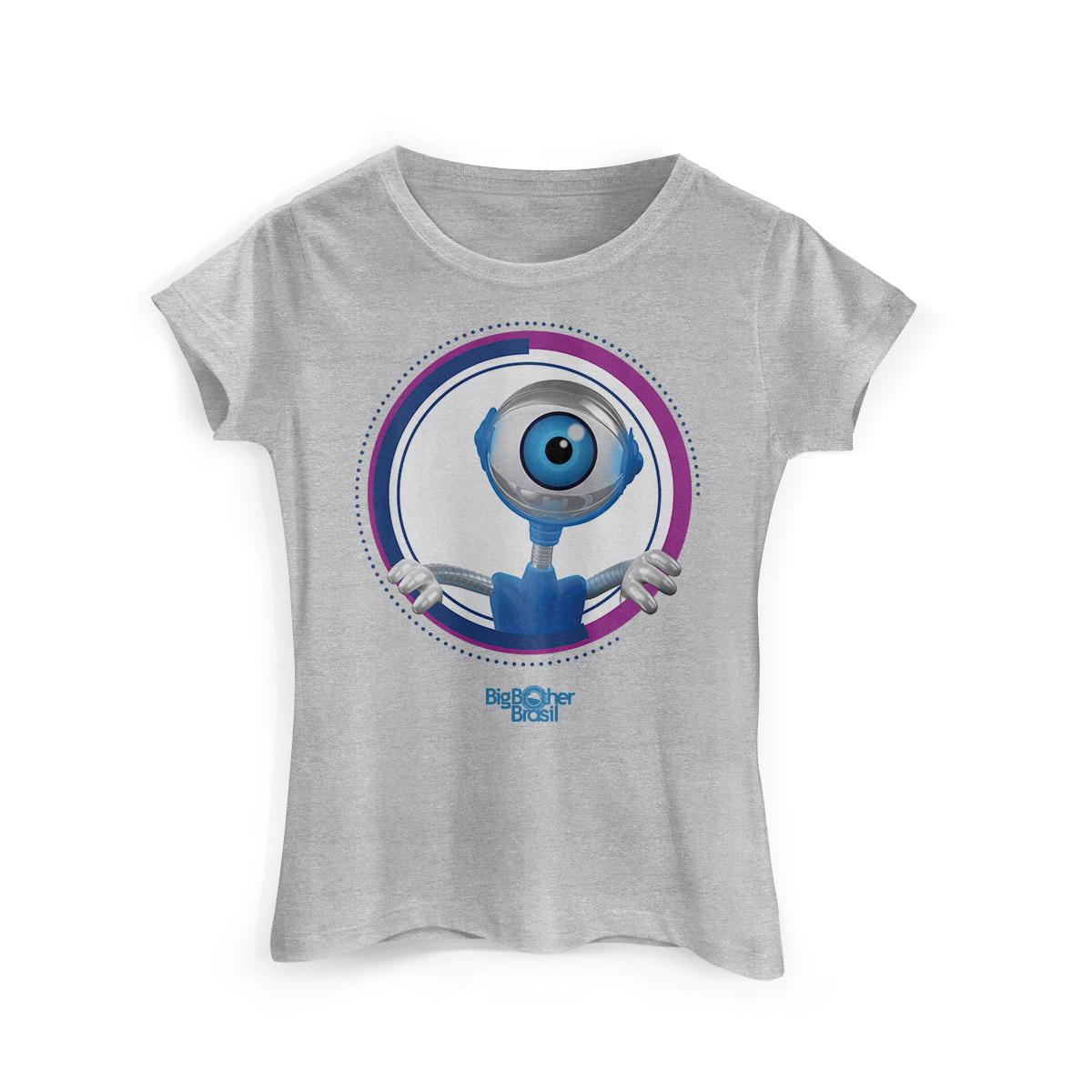 Camiseta Feminina Big Brother Brasil Modelo 15 Espiadinha do RoBBB