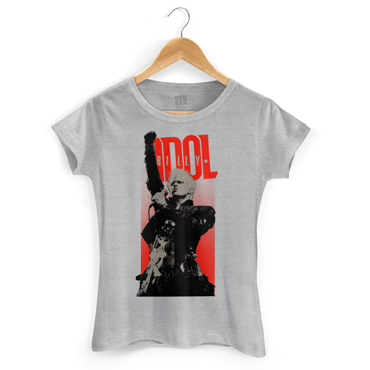 Camiseta Feminina Billy Idol Sing