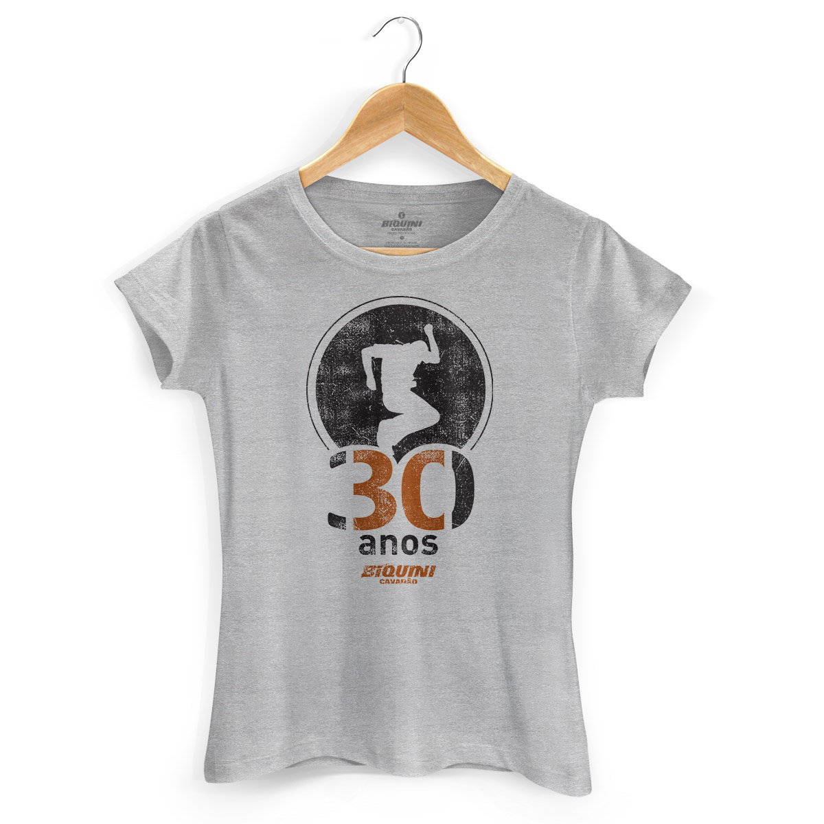 Camiseta Feminina Biquini Cavadão 30 Anos
