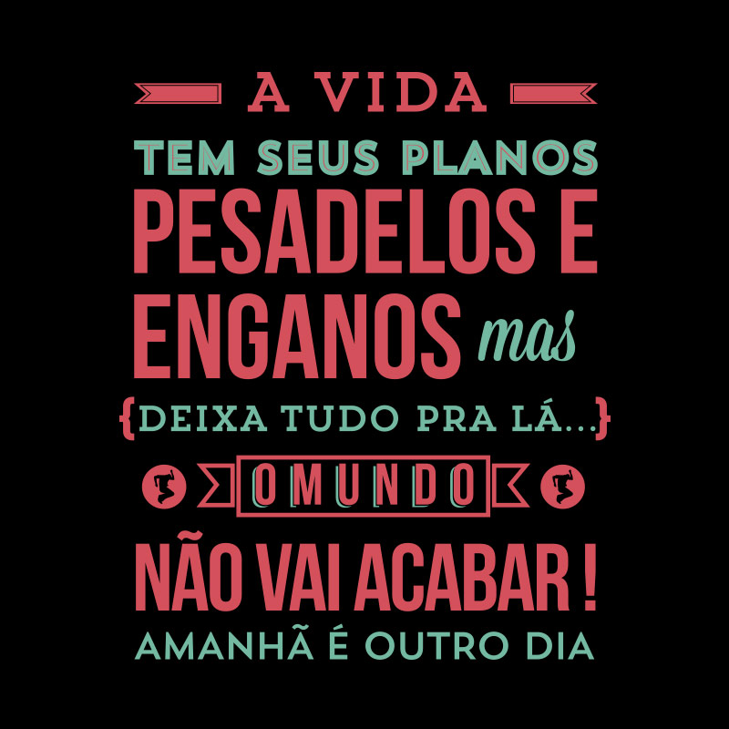 Camiseta Feminina Biquini Cavadão - Amanhã é Outro Dia