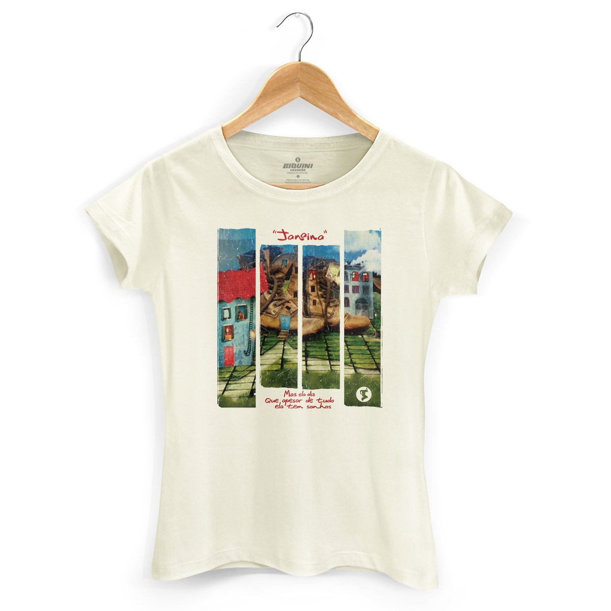 Camiseta Feminina Biquini Cavadão Janaína