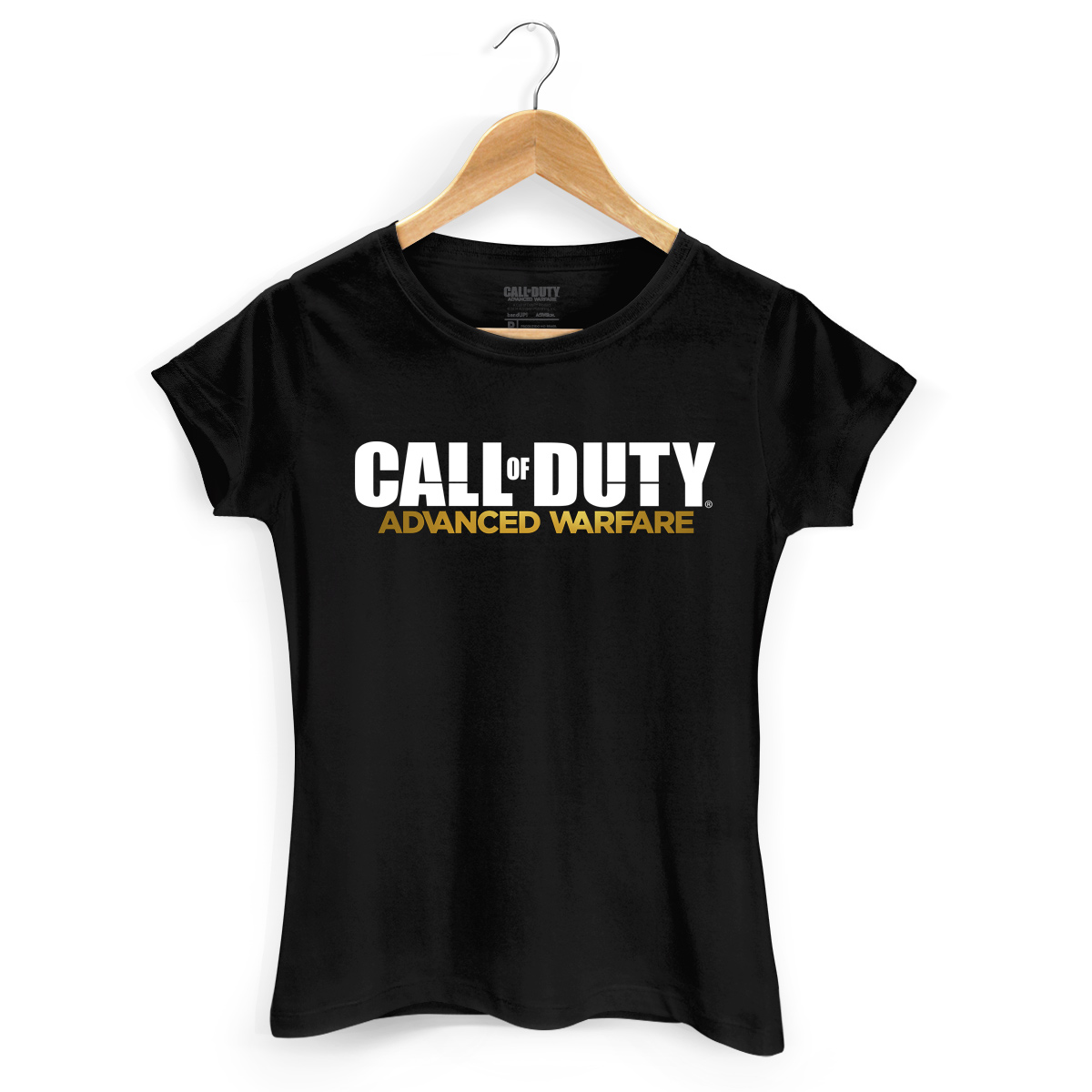 Camiseta Feminina Call Of Duty Logo