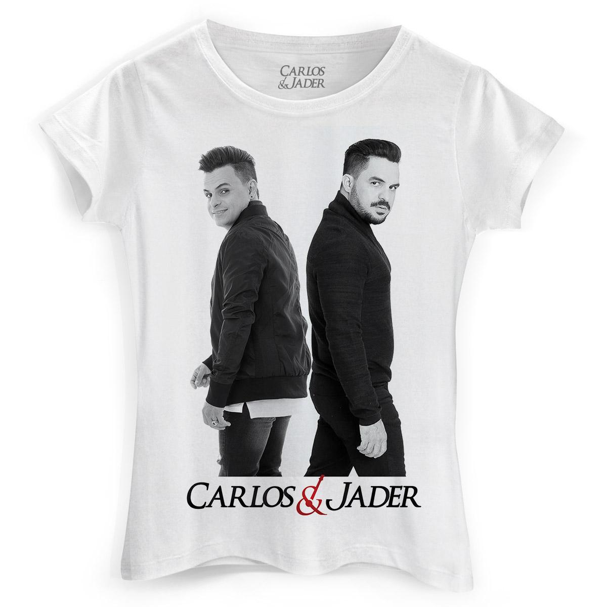 Camiseta Feminina Carlos & Jader Foto