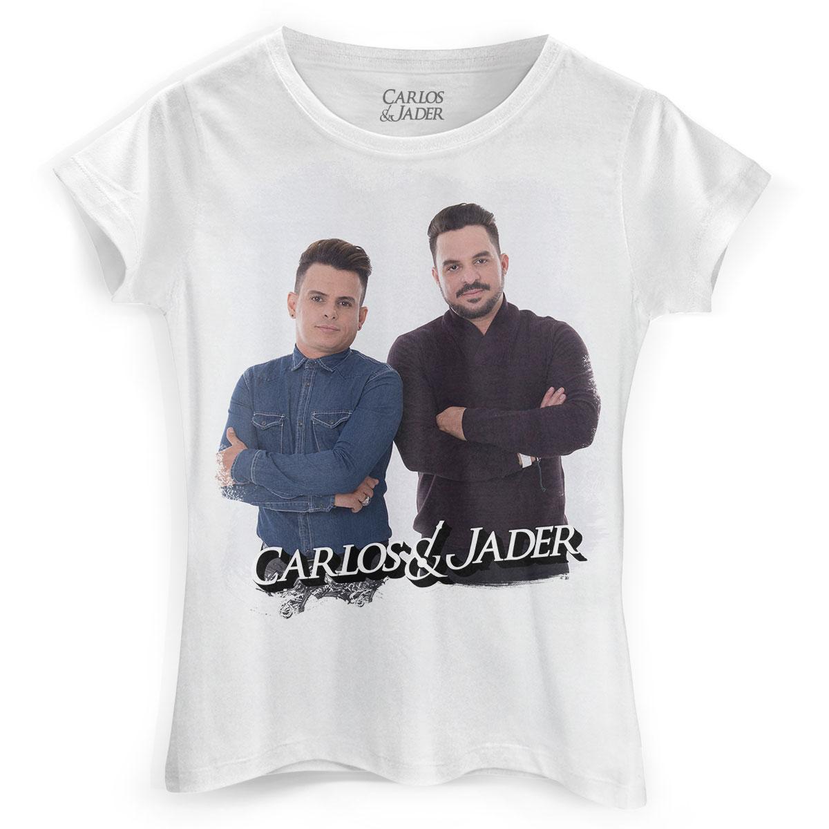 Camiseta Feminina Carlos & Jader Picture