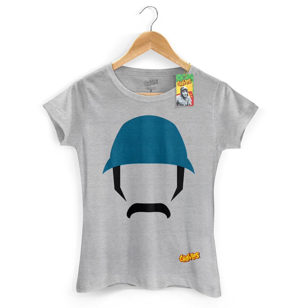 Camiseta Feminina Chaves Icone Seu Madruga