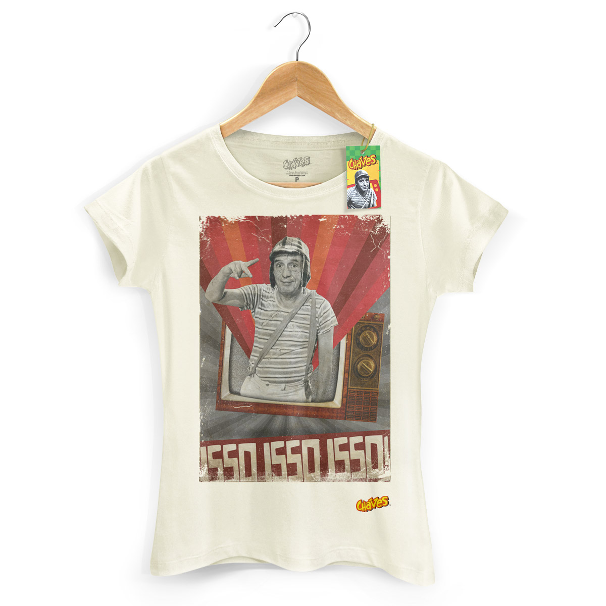Camiseta Feminina Chaves na TV