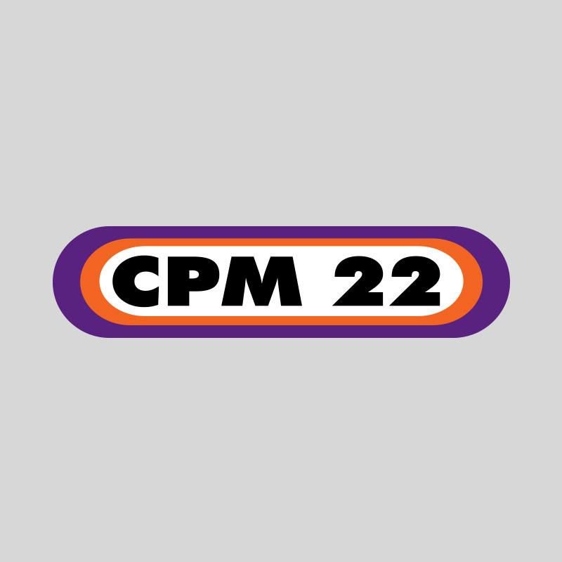 Camiseta Feminina CPM 22 Logo Mescla