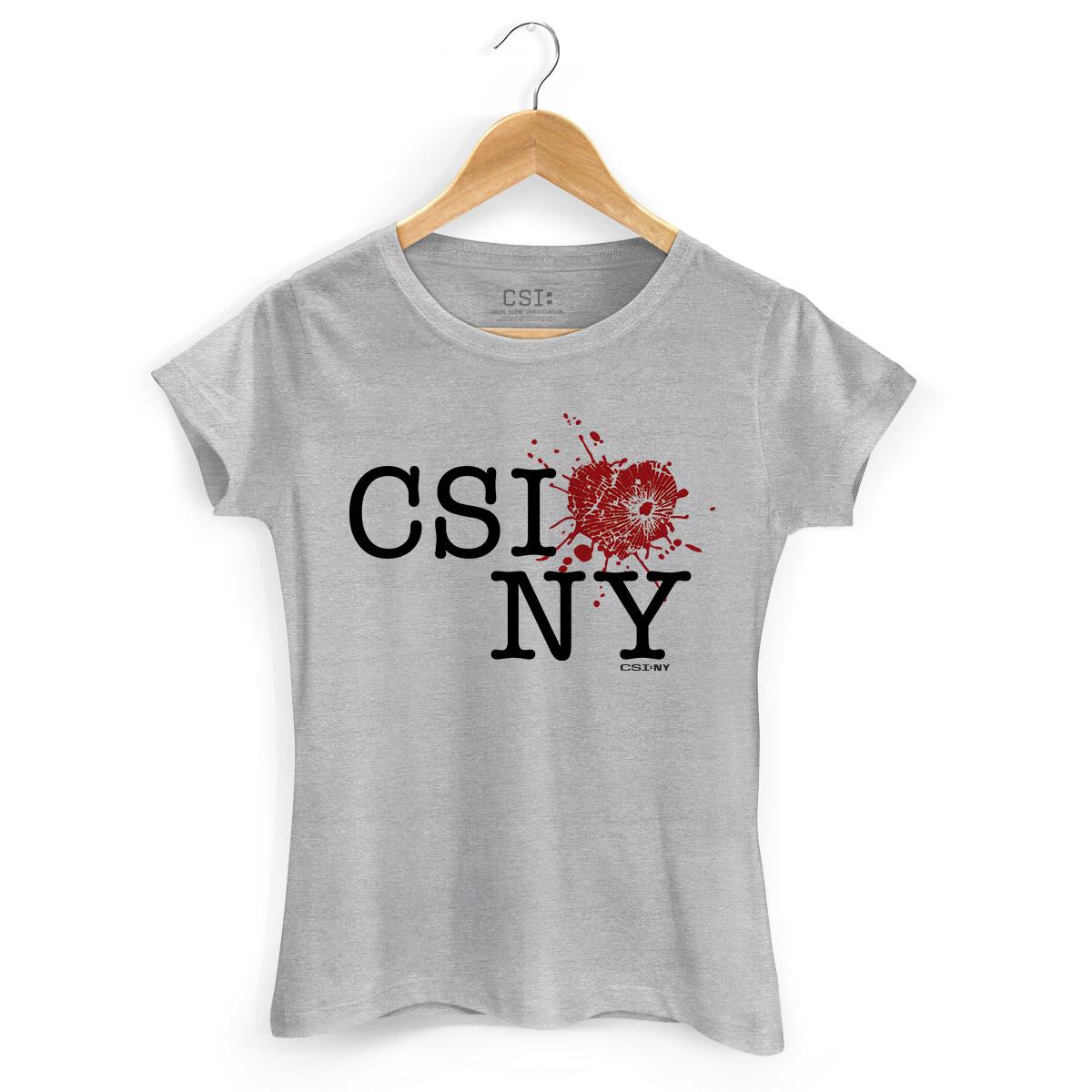 Camiseta Feminina CSI NY