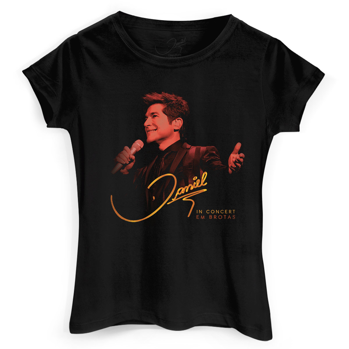 Camiseta Feminina Daniel In Concert