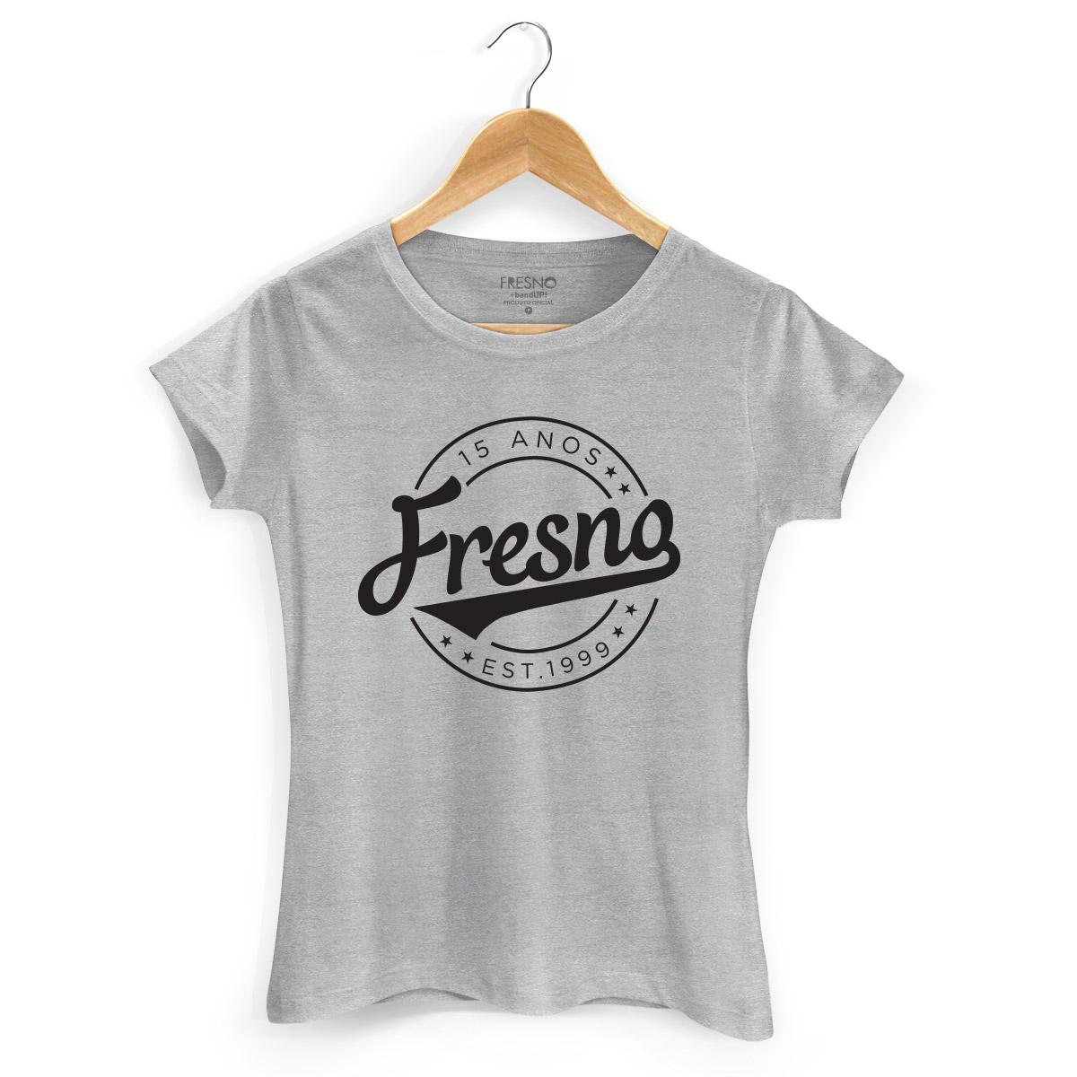 Camiseta Feminina Fresno 15 Anos Est 1999