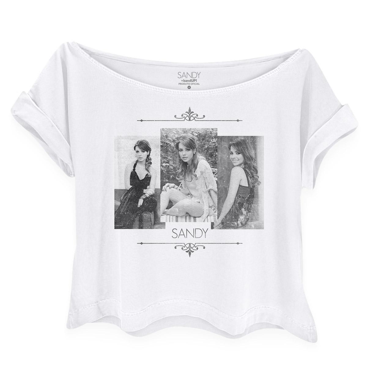 Camiseta Feminina Gola Canoa Sandy Pictures