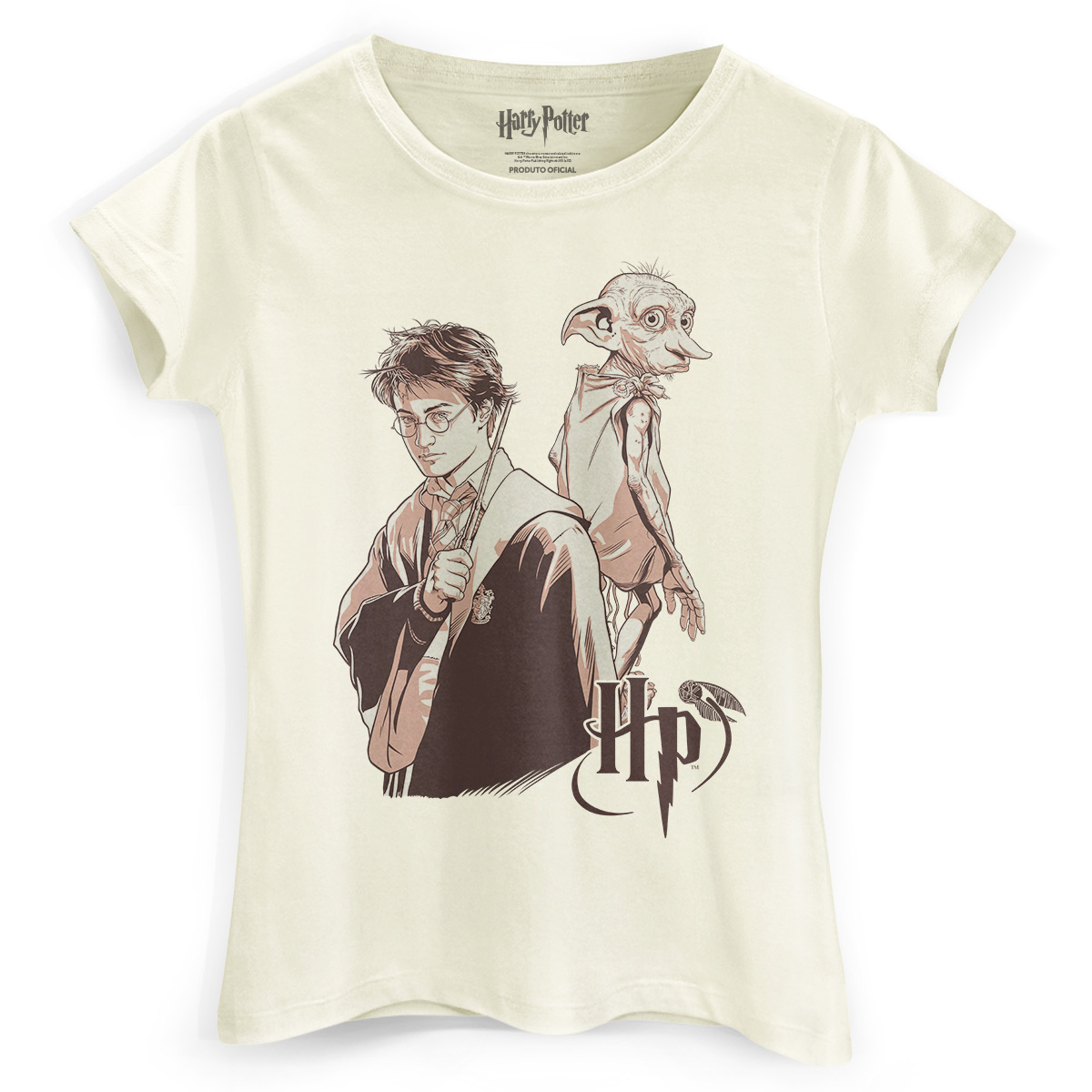 Camiseta Feminina Harry Potter Dobby