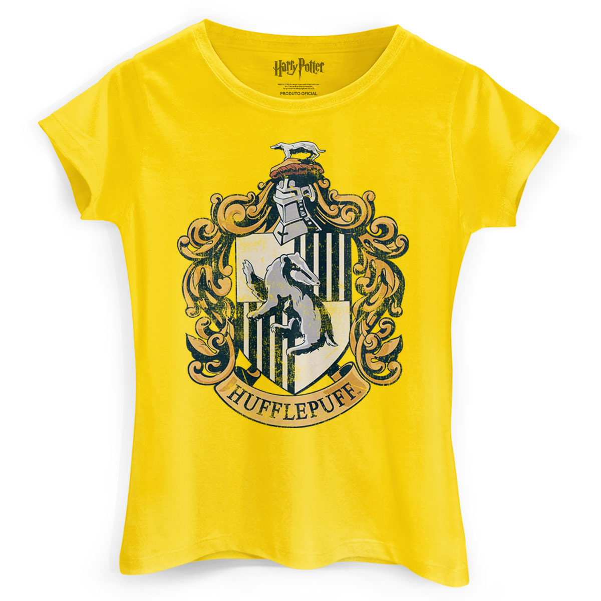 Camiseta Feminina Harry Potter Hufflepuff