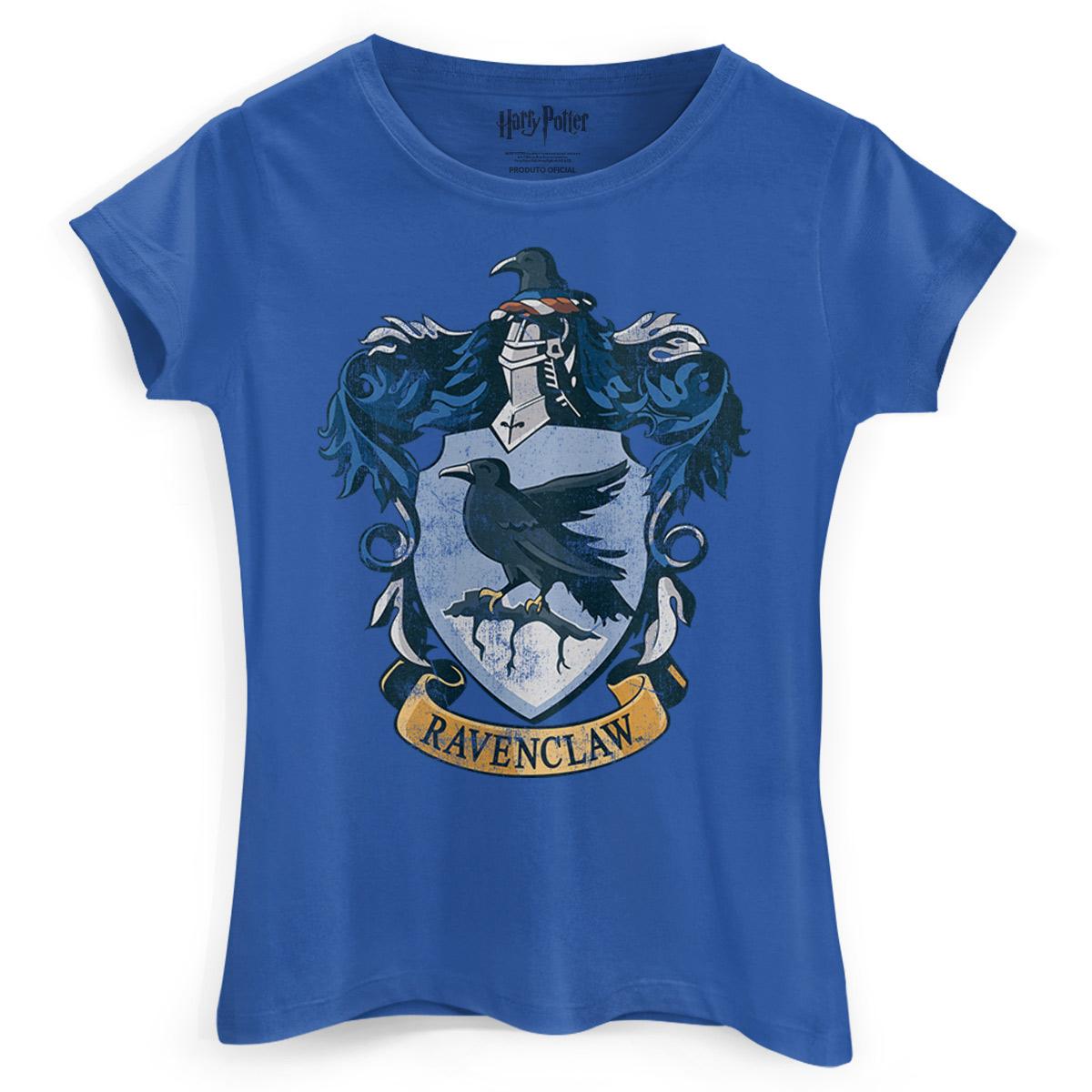 Camiseta Feminina Harry Potter Ravenclaw
