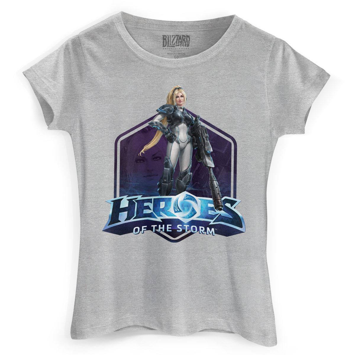 Camiseta Feminina Heroes Of The Storm Nova