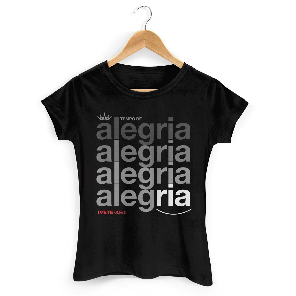 Camiseta Feminina Ivete Sangalo Tempo de Alegria
