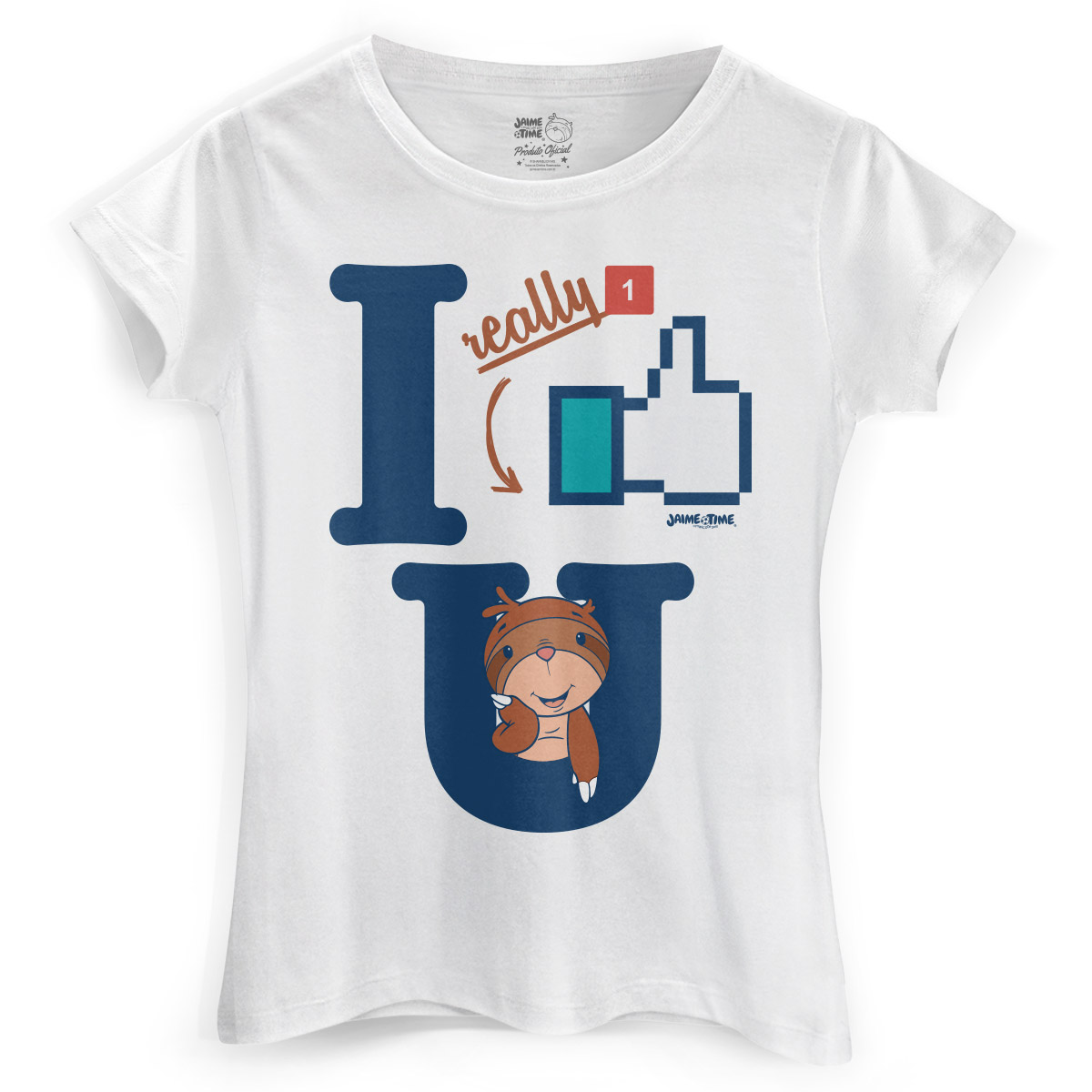Camiseta Feminina Jaime I Like You