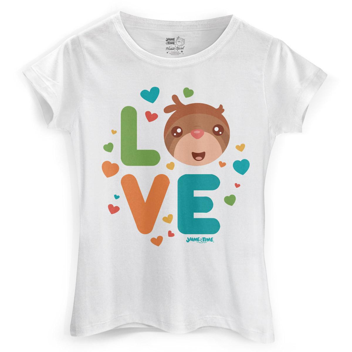 Camiseta Feminina Jaime Love