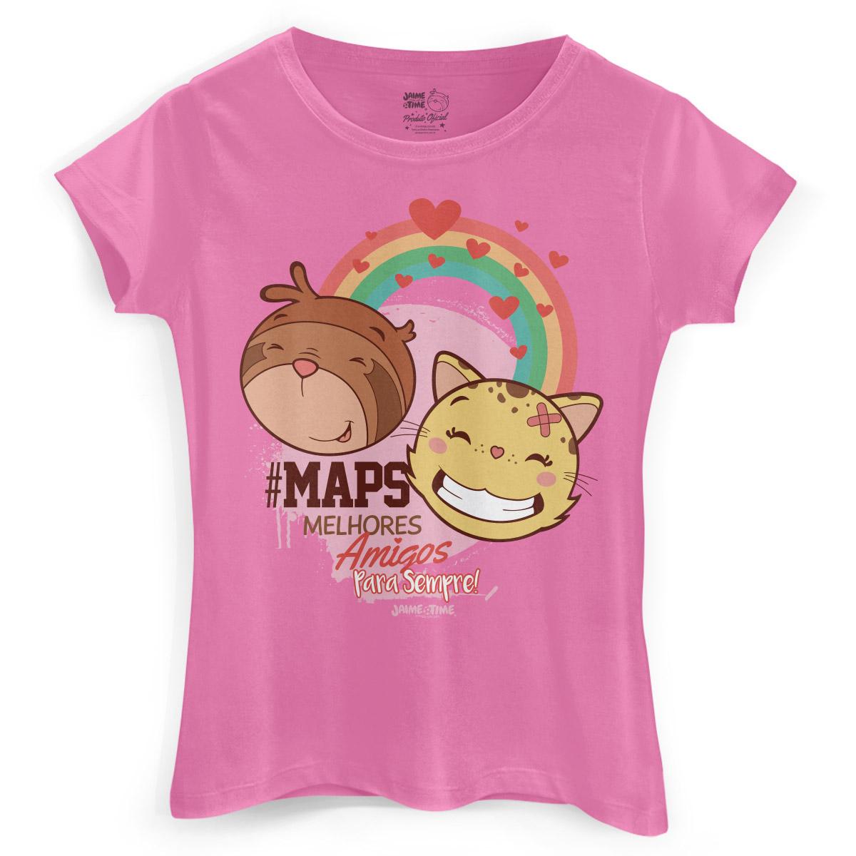 Camiseta Feminina Jaime #Maps