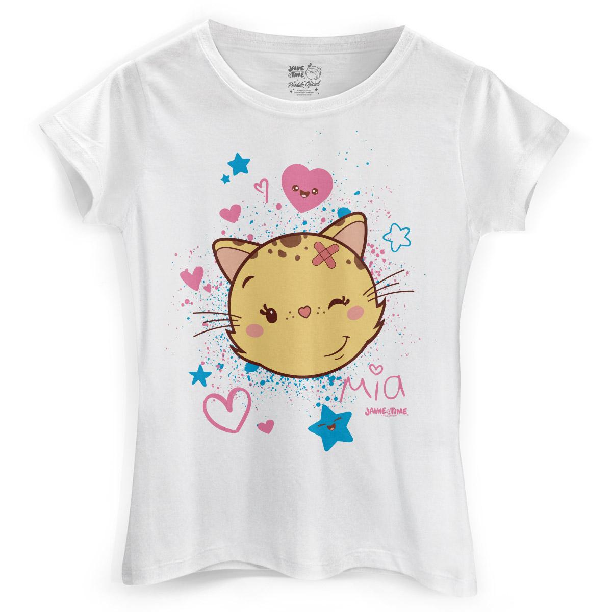 Camiseta Feminina Jaime Mia