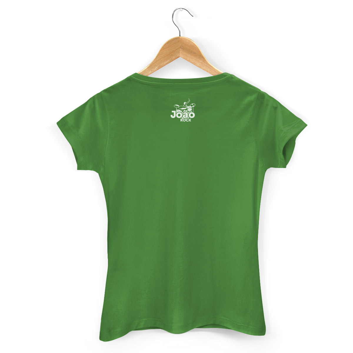Camiseta Feminina João Rock Rock Nacional