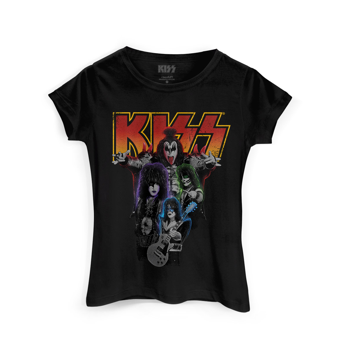 Camiseta Feminina Kiss Kissology
