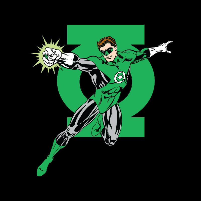 Camiseta Feminina Lanterna Verde da Terra
