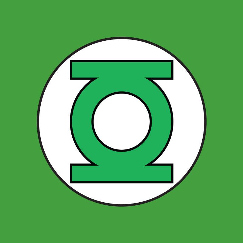 Camiseta Feminina Lanterna Verde Logo