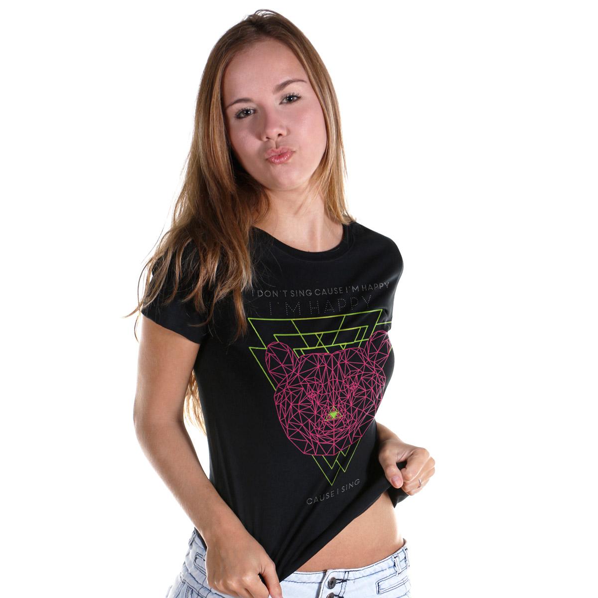 Camiseta Feminina Luan Santana I´m Happy