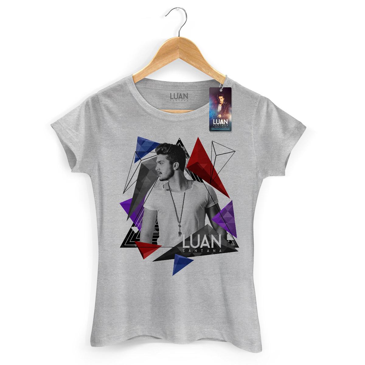 Camiseta Feminina Luan Santana Triangle