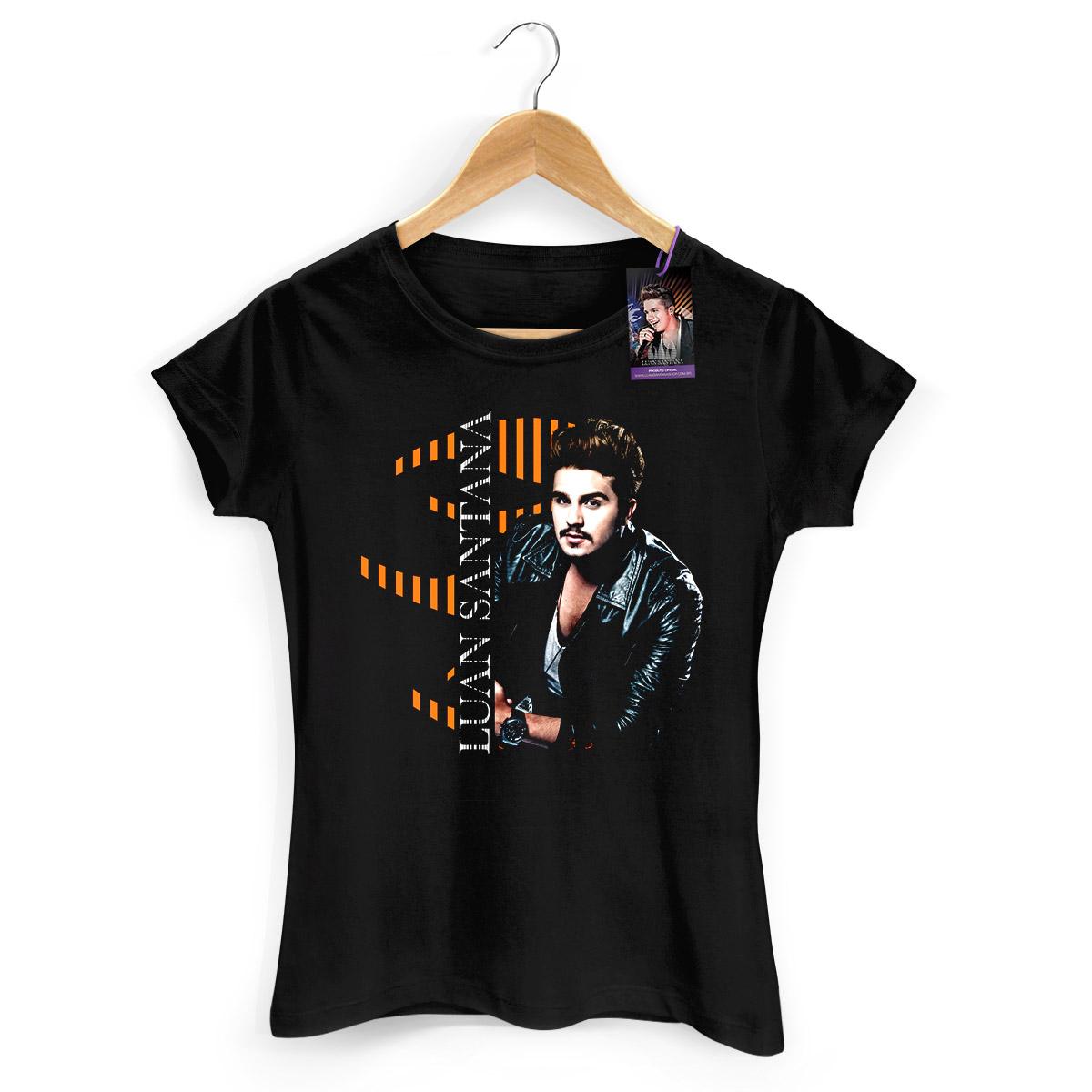 Camiseta Feminina Luan Santana Type