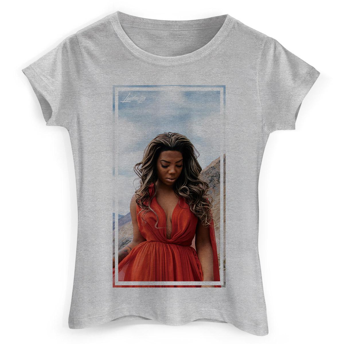 Camiseta Feminina Ludmilla Não Quero Mais