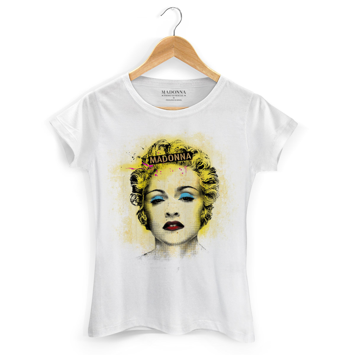 Camiseta Feminina Madonna Celebration