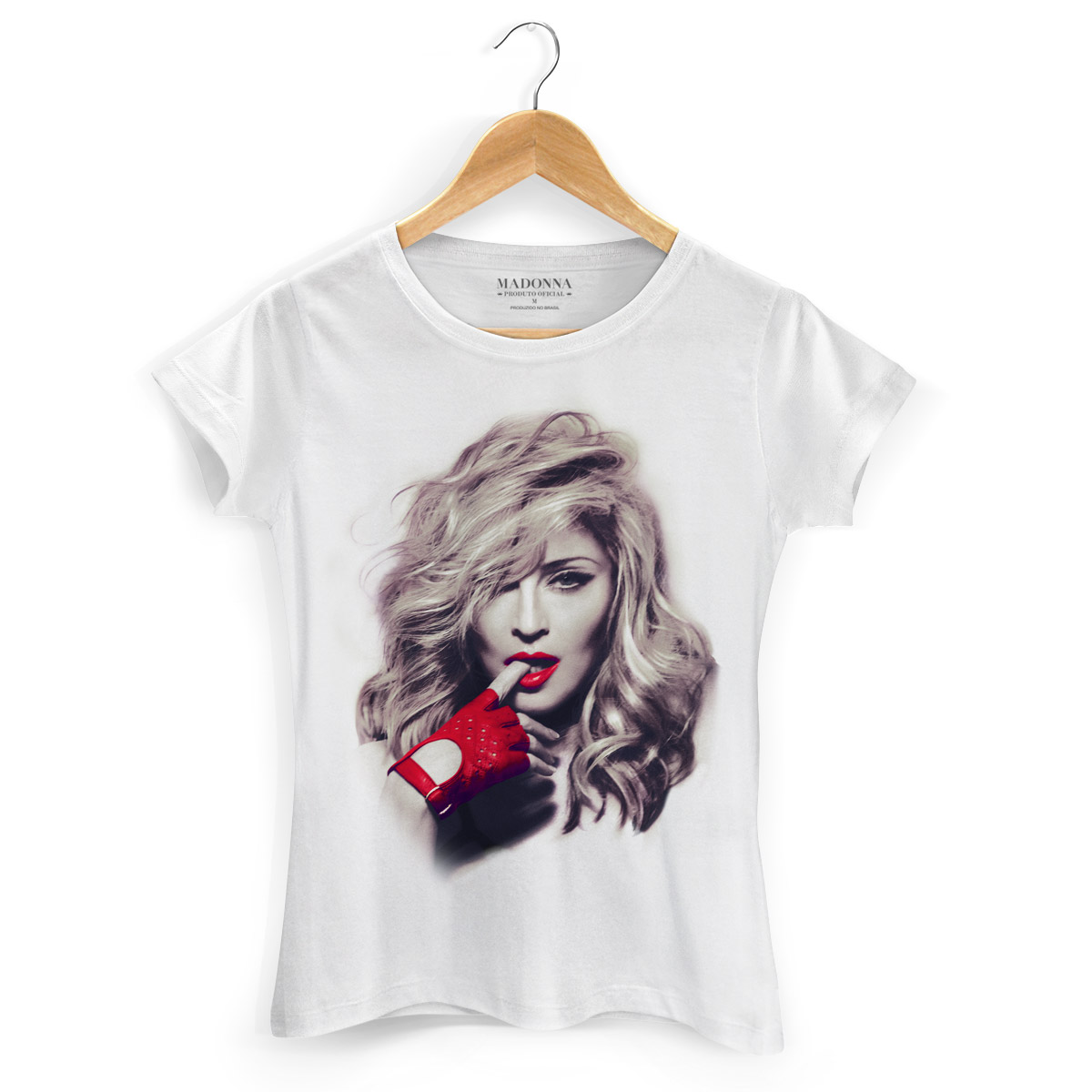 Camiseta Feminina Madonna Girl Gone Wild Photo