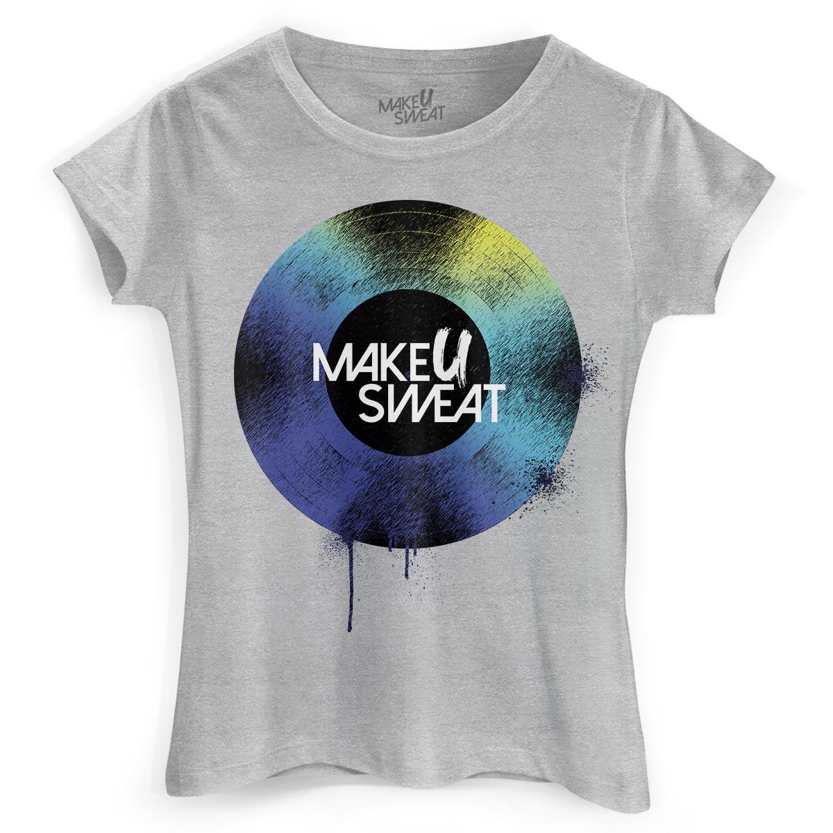 Camiseta Feminina Make U Sweat Disco