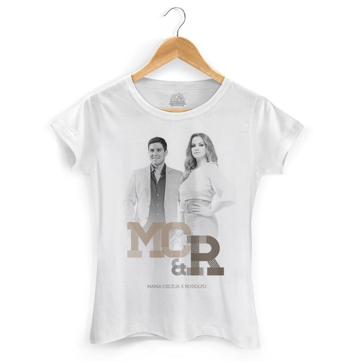 Camiseta Feminina Maria Cecília & Rodolfo Foto PB