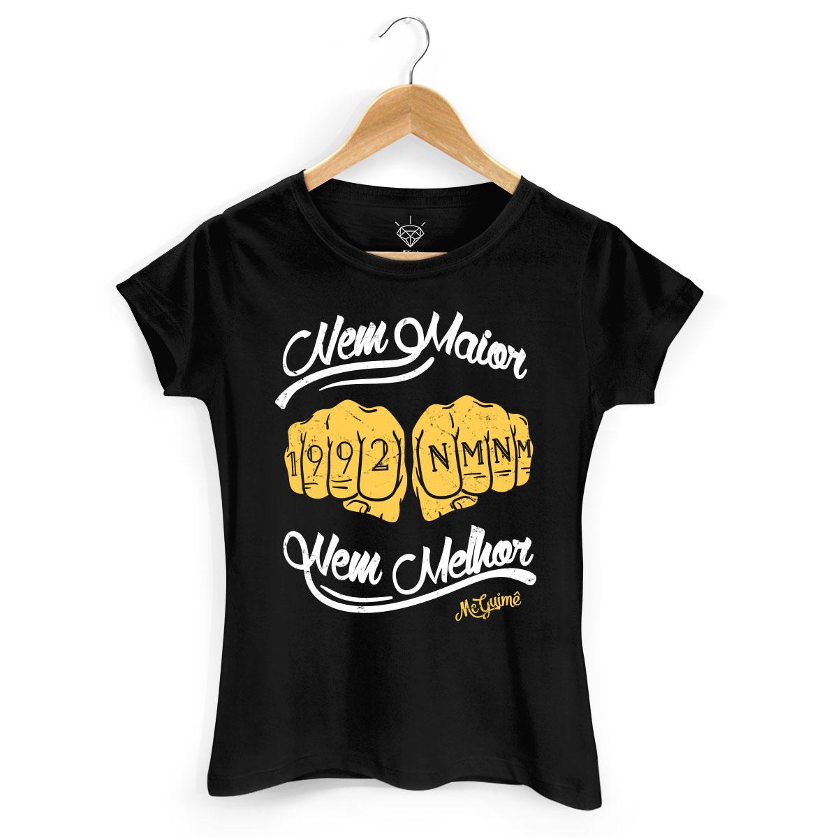 Camiseta Feminina MC Guimê Nem Maior Nem Melhor