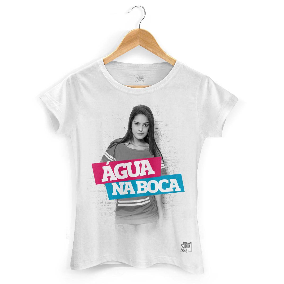 Camiseta Feminina MC Tati Zaqui Água na Boca