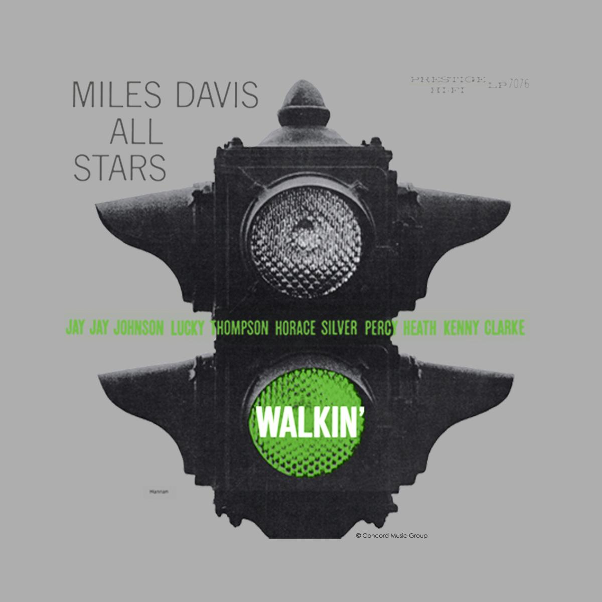 Camiseta Feminina Miles Davis Walkin'