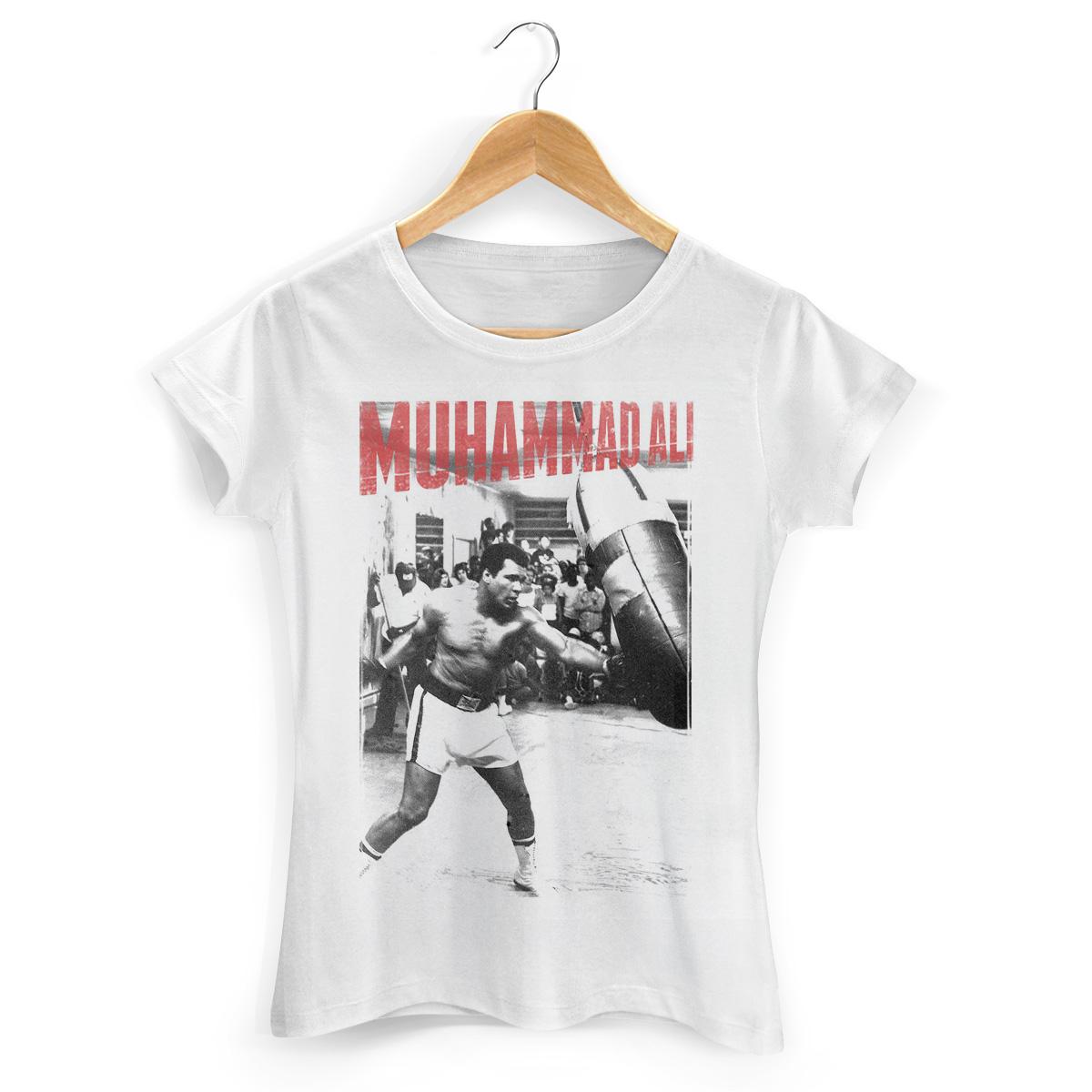 Camiseta Feminina Muhammad Ali Modelo 7