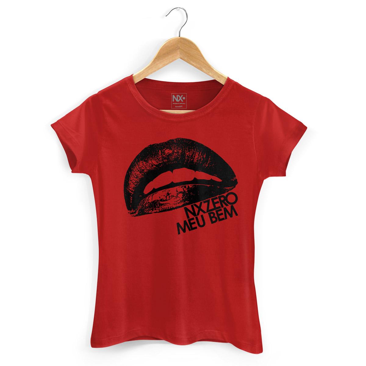 Camiseta Feminina NXZero Meu Bem