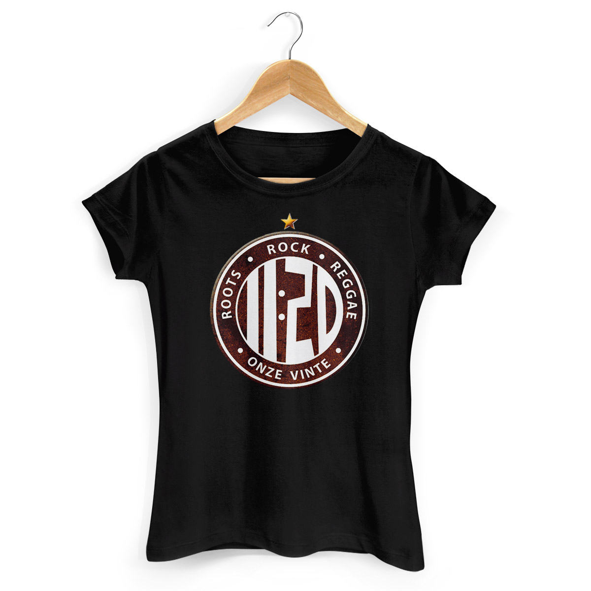 Camiseta Feminina Onze:20 Logo Star
