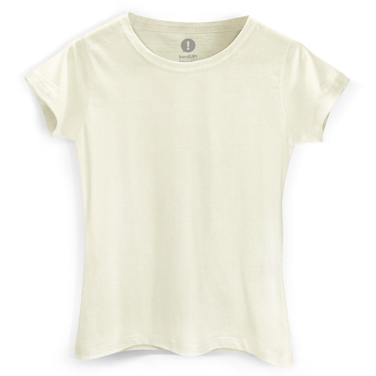 Camiseta Feminina Palha
