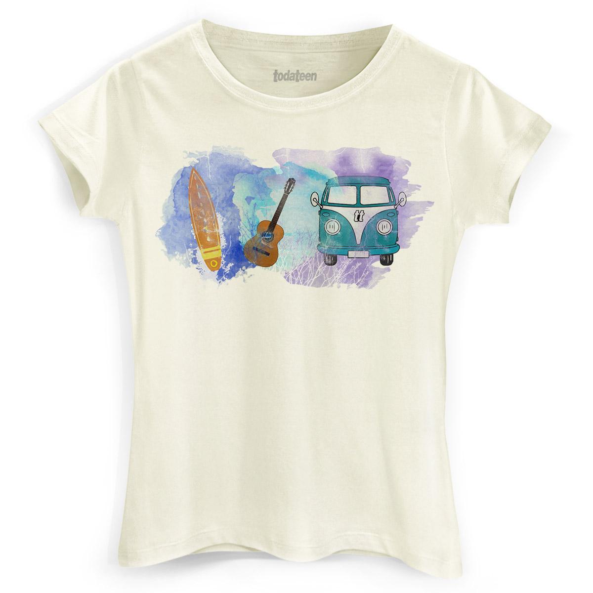 Camiseta Feminina TodaTeen Trip