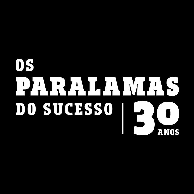 Camiseta Feminina Paralamas do Sucesso 30 Anos Modelo 2
