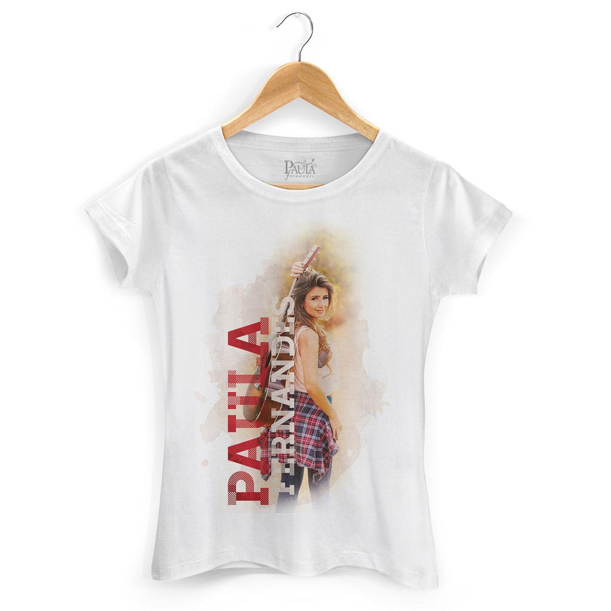 Camiseta Feminina Paula Fernandes Colors